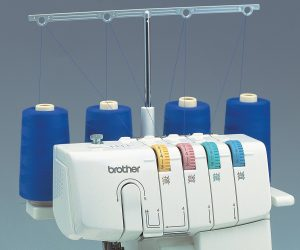 Closeup photo of the Brother 1034D 3/4 Thread Serger