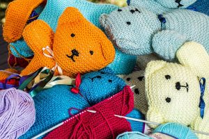 Knitted Teddy Bears 2