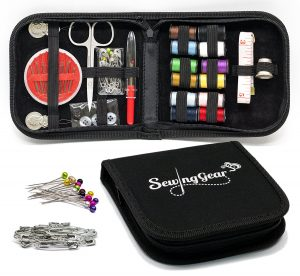 Photo of a ompact Sewing Kit for Home, Travel, Camping & Emergency